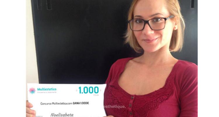 La gagnante du concours du mois d'octobre : Noelisabeta