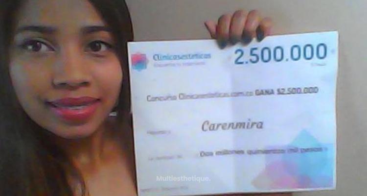 La gagnante du concours de Novembre est : Carenmira