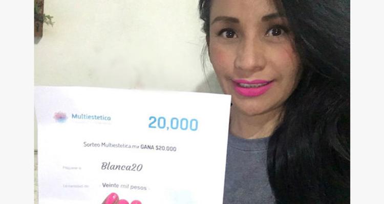 Gagnante du tirage au sort : Blanca20 est l'heureuse élue du mois de décembre