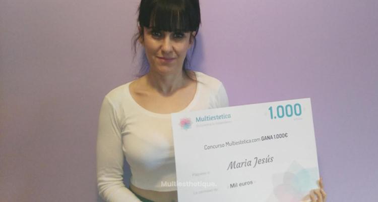 Gagnante du concours du mois de février : Maria Jesús