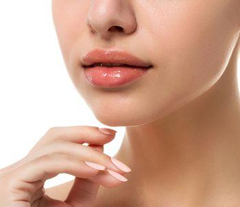 De la graisse pour l'augmentation des lèvres