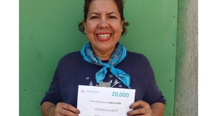 Gagnante du tirage au sort : AnaHernandez9, notre chanceuse du mois de mars