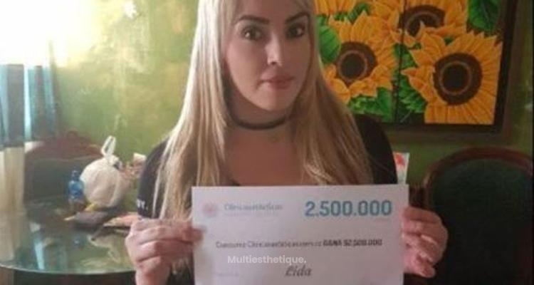 Notre gagnante du tirage au sort du mois d'Avril est Lida