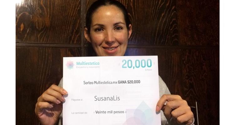 Tirage au sort : SusanaLis est notre heureuse gagnante du mois de mai