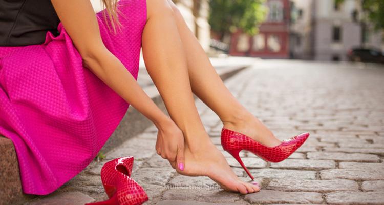 Lifting des pieds grâce à l'acide hyaluronique