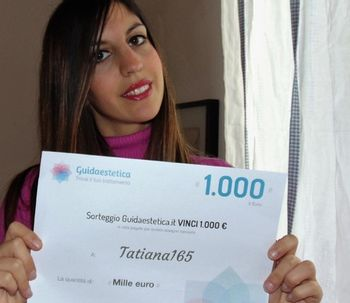 Tatiana165 est la gagnante de février !
