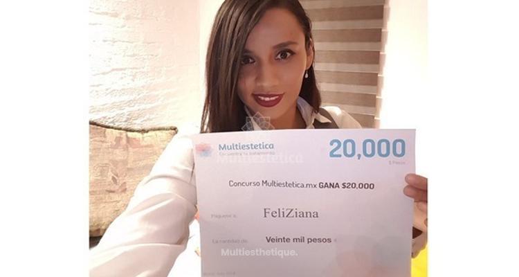 Félicitations à FeliZiana, notre gagnante du mois de juin !