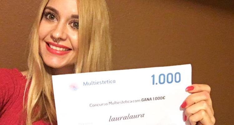 Laura est la gagnante du mois de septembre !