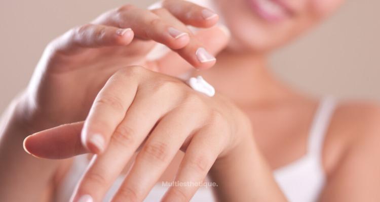 Le rajeunissement des mains