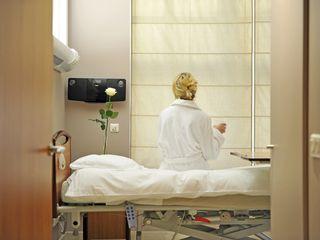 Chambres mises à disposition des patient(e)s au sein de la Clinique