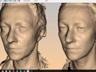 Modélisation 3D du visage