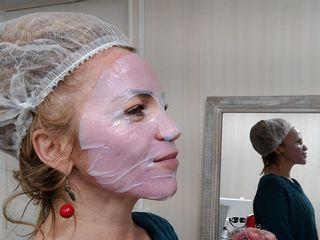 Masque hydratant post microneedling