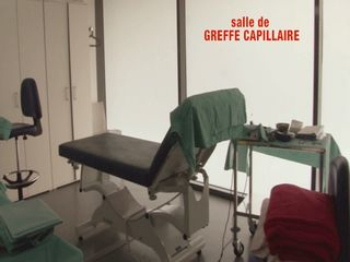 Salle greffe capillaire