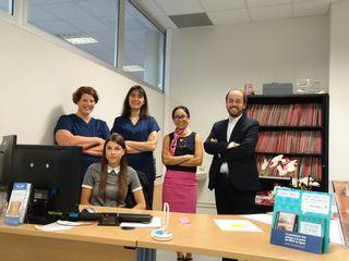 L'équipe du Dr Lamy