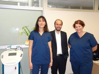 Virginie et Marie, les aides opératoires du Dr Lamy
