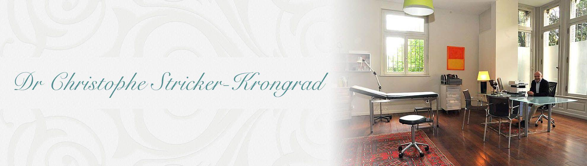 Dr Christophe Stricker-Krongrad