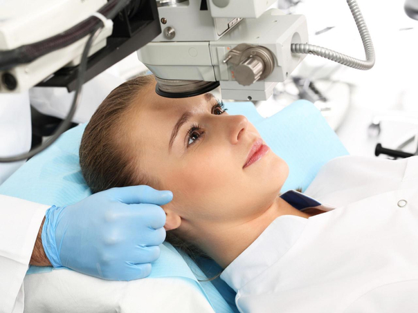 Procédure chirurgie laser