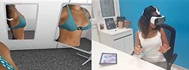 Simulation d'augmentation mammaire par 3D