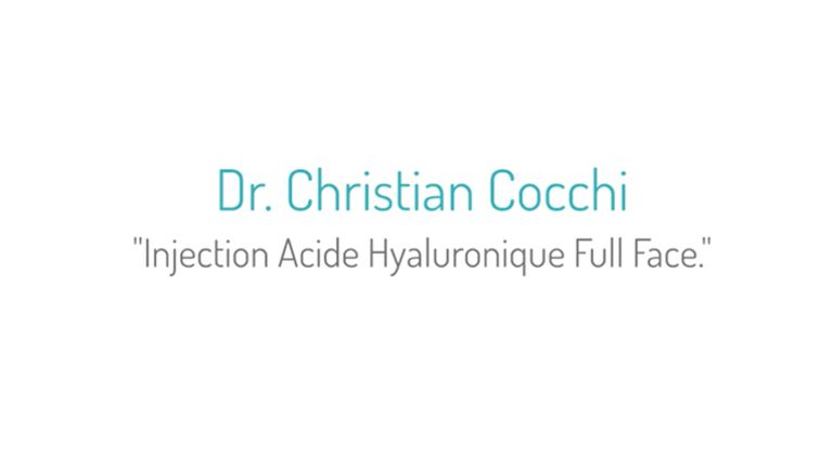 Dr Cocchi Acide hyaluronique