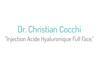 Dr Cocchi Acide hyaluronique