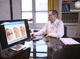 Augmentation par implant mammarie