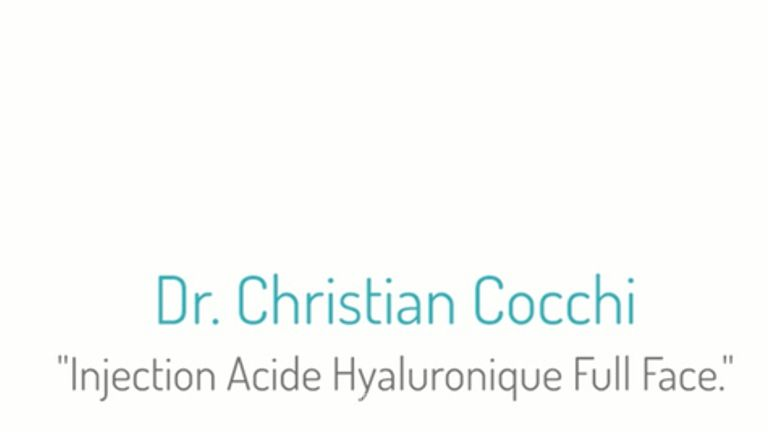 Dr Christian Cocchi  Acide Hyaluronique