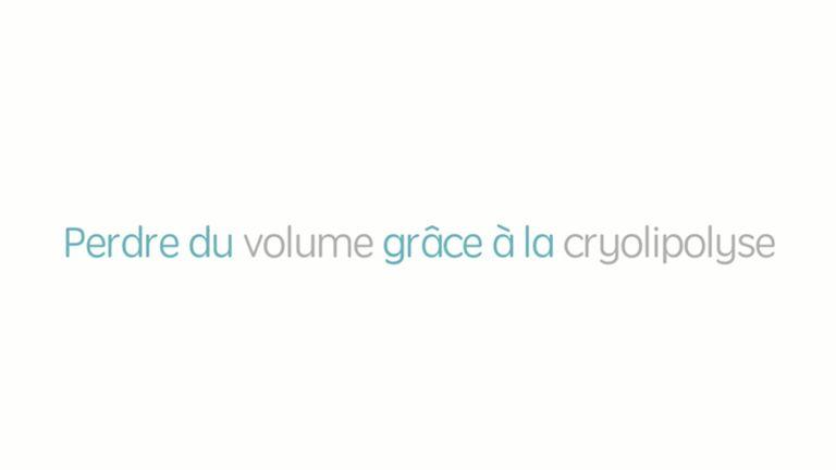 Perdre du volume grâce à la cryolipolyse