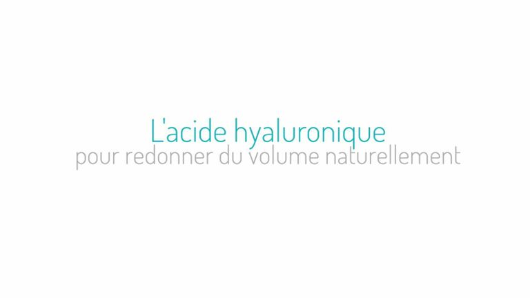 L'acide hyaluronique pour redonner du volume naturellemment